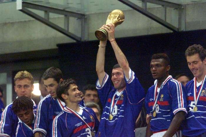 França Campeã Copa do Mundo 1998