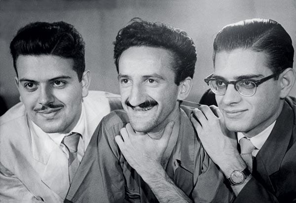 Haroldo de Campos, Décio Pignatari e Augusto de Campos