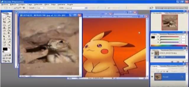 Untooned - Desenhos Realistas - imagem: PAPIEL Pikachu por CURI