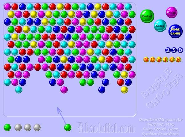 Jogo Online - Bubble Shooter