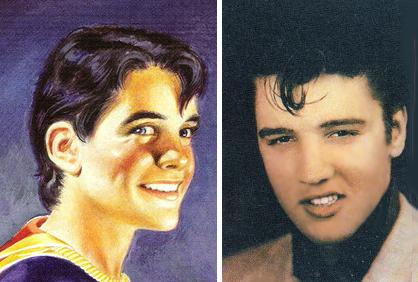 Elvis e o Capitão Marvel Jr.