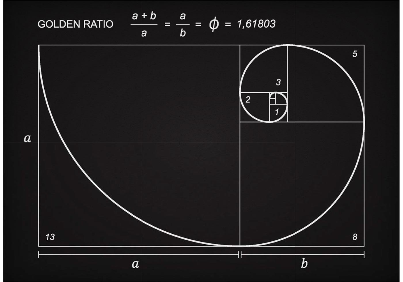 free-golden-ratio-scheme-vector