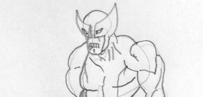 desenho wolverine