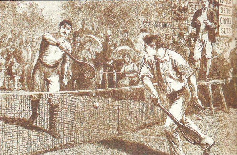 O jogo de tênis (Aposto que você não sabia!)