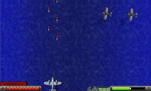 Naval Fighter - Jogo Online - imagem: Overheat