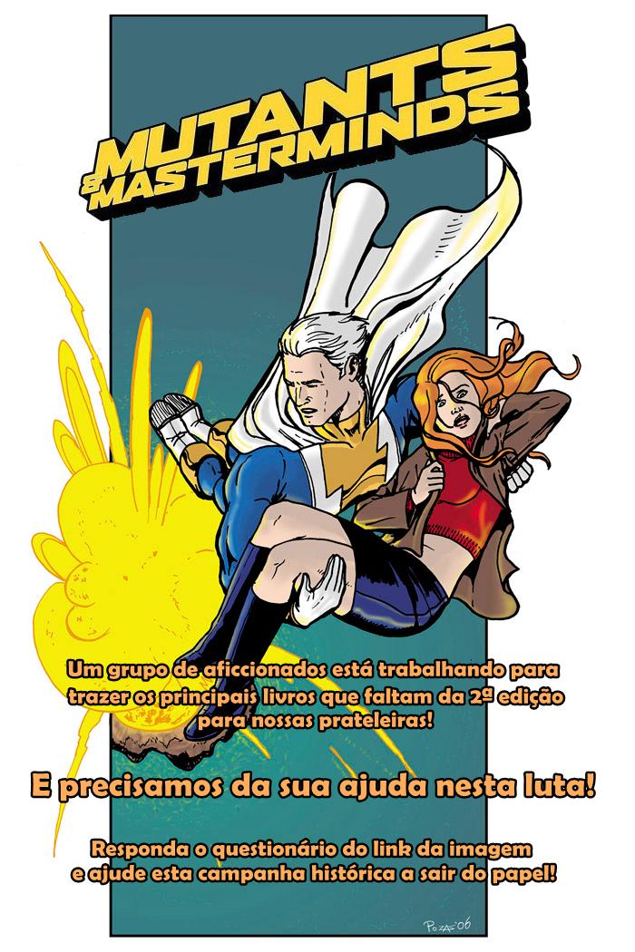 Lançamentos de novos títulos de Mutantes e Malfeitores