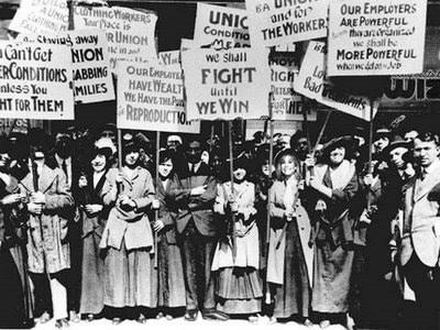 Dia Internacional das Mulheres - greve das mulheres