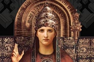uma mulher no trono papal